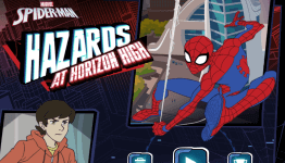 spiderman hazards at horizon