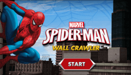 spiderman wall crawler