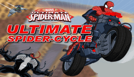 spiderman ultimate spider cycle